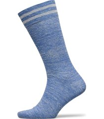 linen striped sock underwear socks regular socks blå hackett london