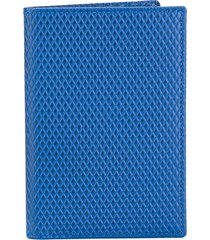 comme des garçons wallet luxury group billfold wallet - blue