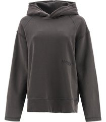 ambush oversized hoodie logo embroidery