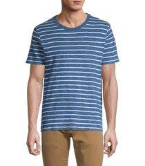 madewell men's allday striped t-shirt - indigo - size s