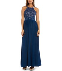 nightway lace-top gown