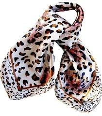 pañuelo bandana animal beige viva felicia