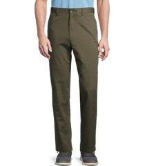 rag & bone men's corbin cotton-twill pants - army green - size 30