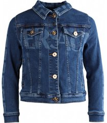 greca denim jacket