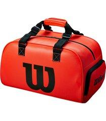 bolso deportivo wilson morral duffel small infrared