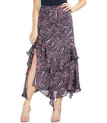 sapphire bloom printed skirt