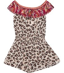 jumpsuit with animalier print