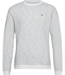 baxter light sweatshirt sweat-shirt tröja vit makia