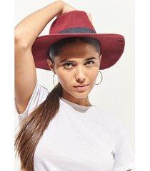sombrero bordó 47 street roma
