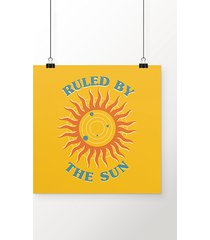 poster ruled by the sun