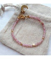 bransoletka - turmalin różowy (2858)