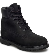 6in premium boot - w shoes boots ankle boots ankle boot - flat svart timberland