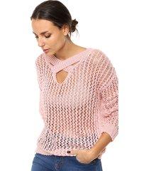 sweater rosa muet store florencia