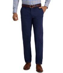 haggar men's slim-fit super flex casual pants