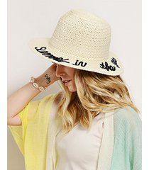 sombrero natural nuevas historias summer in the sea