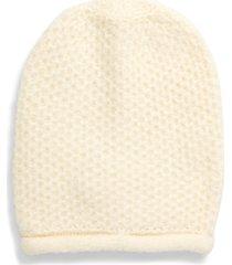 women's free people dreamland knit beanie - ivory