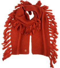 frye and co. garter fringe scarf