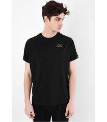 camiseta para hombre 222 banda coen slim negro