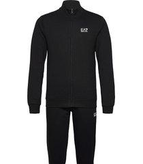 tracksuit sweat-shirts & hoodies tracksuits - sets svart ea7