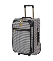 "it girl 21"" prestigious softside semi-expandable carry-on suitcase"