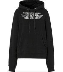 burberry poulter hoodie with coordinates