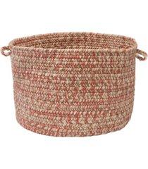 corsica braided storage basket