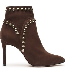 lilly bootie - 11 umber suede