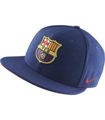 gorra nike fc barcelona 686241-421-azul