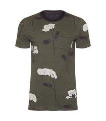 t-shirt double rose glitch