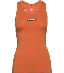 women's racerback tank t-shirts & tops sleeveless orange newline