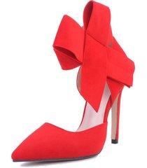 sandalias de tacón alto sexy punta estrecha bombas zapatos para mujer