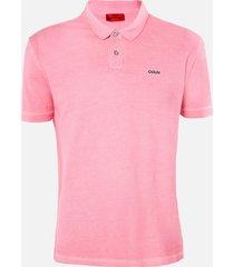 hugo men's dagic polo shirt - bright pink - xxl