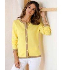 vest amy vermont geel
