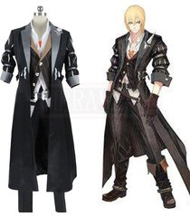 game tales of berseria eizen cosplay costume adult men halloween carnival outfit