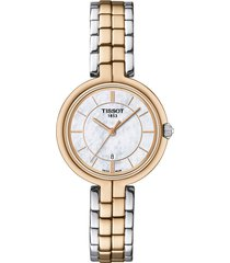 reloj tissot flamingo t094.210.22.111.00 mujer