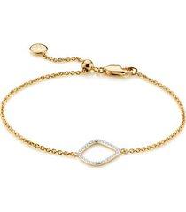 gold riva diamond kite chain bracelet diamond