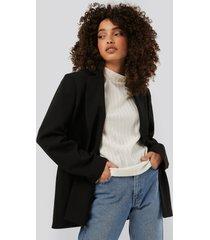 na-kd trend big pocket blazer - black
