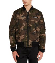 avirex men's reversible camo bomber jacket