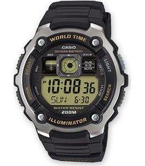 reloj casio ae-2000w-9a digital negro para hombre