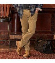 sundance catalog men's burlington corduroy 5-pocket pants in slate 38