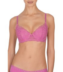 natori drama full fit bra, women's, purple, size 32b natori