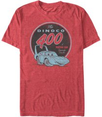 disney pixar men's cars the dinoco 400 a piston cup short sleeve t-shirt