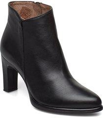 m-4302 shoes boots ankle boots ankle boot - heel svart wonders