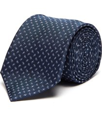 water drop embroidered silk tie