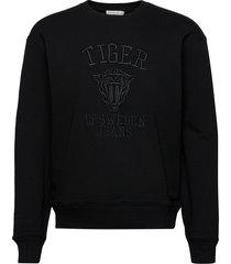 zoab emb sweat-shirt trui zwart tiger of sweden jeans