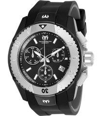 reloj technomarine negro modelo tm-6160gc para hombre, colección uf6
