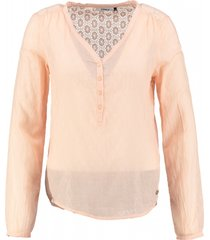 only blouse peach melba