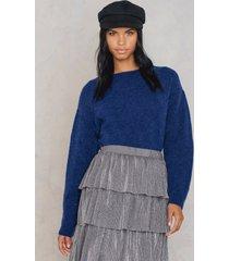 trendyol cozy sweater - blue
