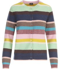 ps by paul smith striped cardigan