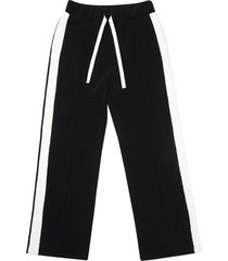 side stripe detail track pants